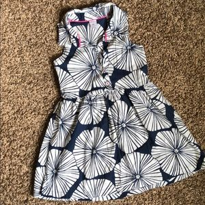 Navy Carters Dress